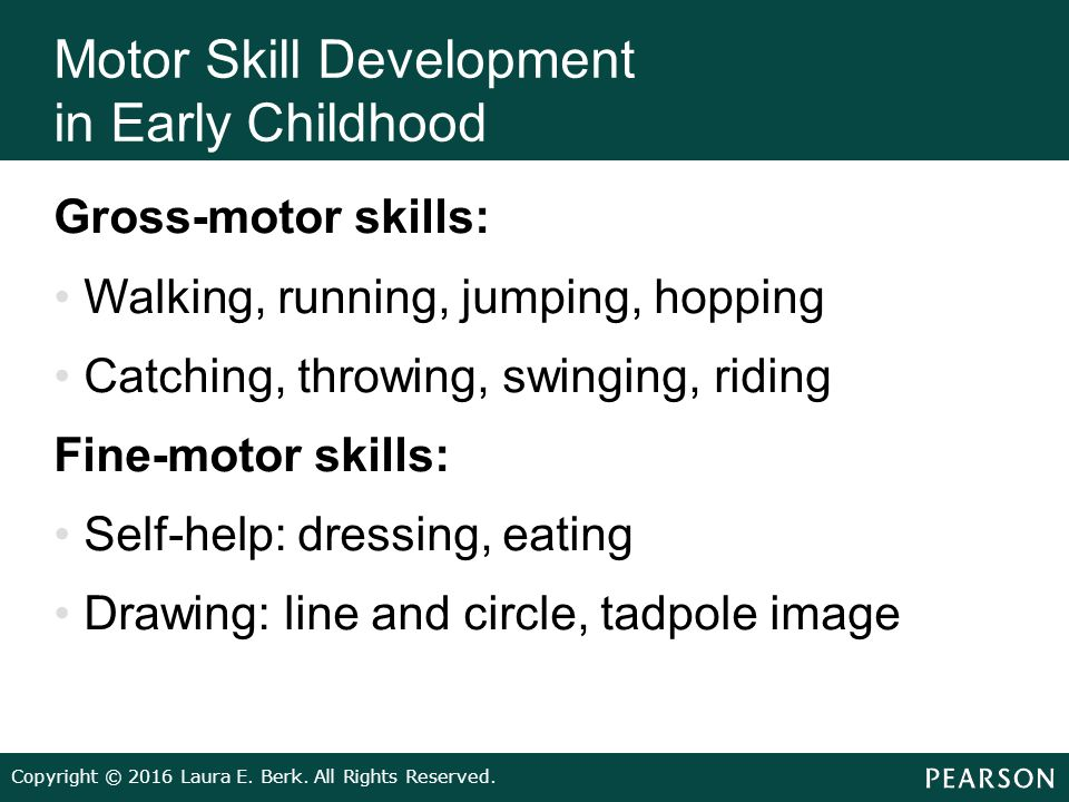 Infants children and adolescents ppt video online download for Motor skills development in early childhood