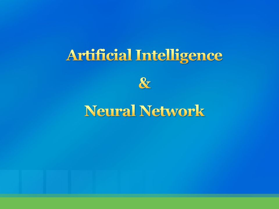 research paper on artificial intelligence ppt