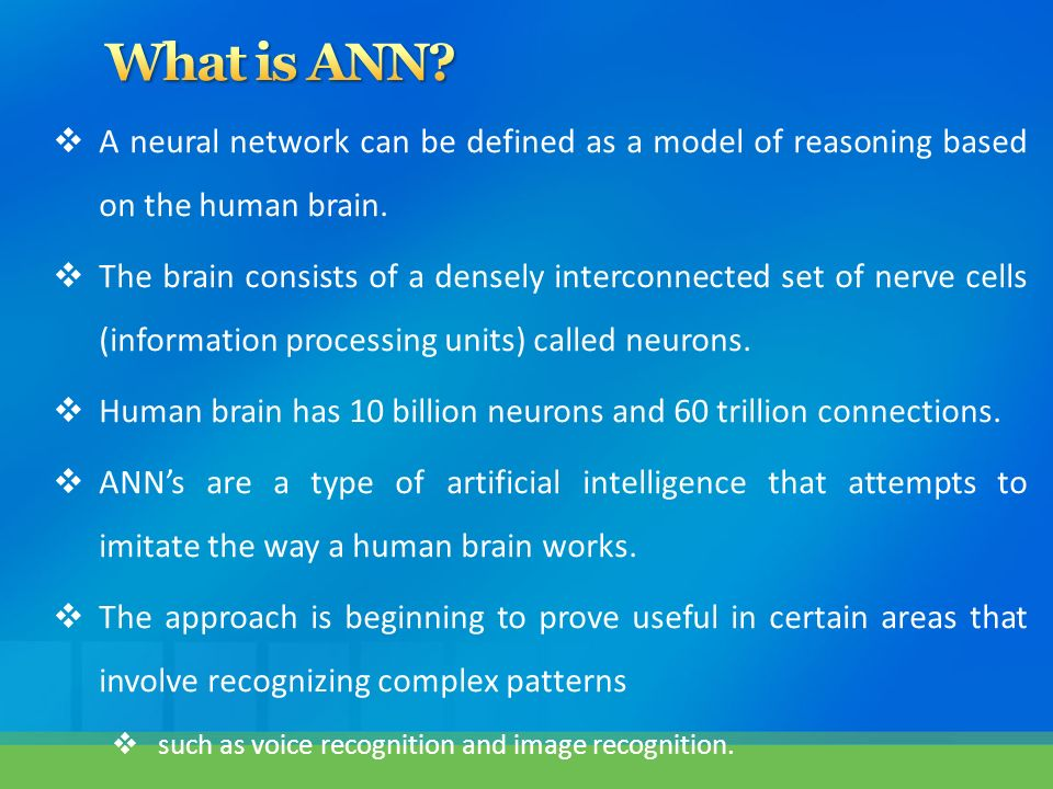 types of artificial neural network pdf