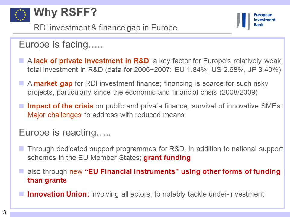 Why RSFF Europe is facing….. Europe is reacting…..