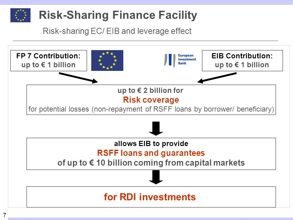 Risk-Sharing Finance Facility