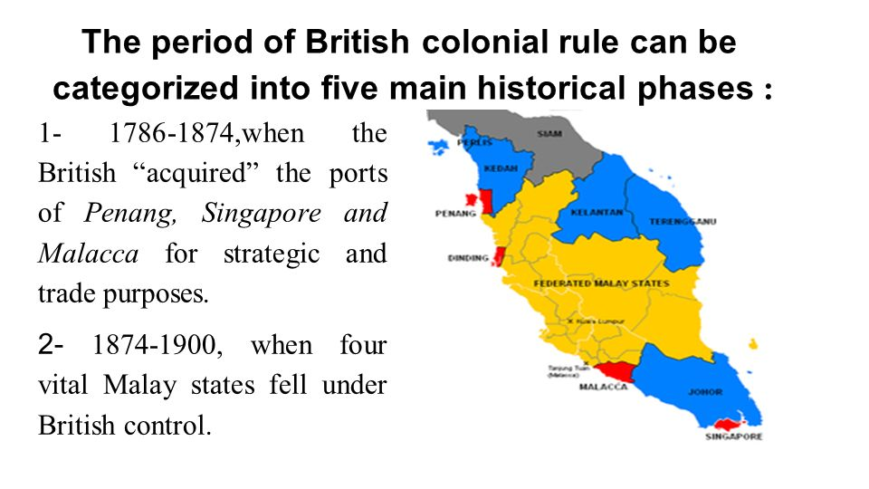 the effects of british colonial rule Remain very interested in the short- and long-term effects of colonial rule  but  while some studies find that former british colonies have.