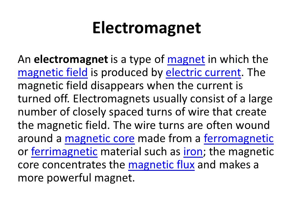 Archive for category MAGNETISM