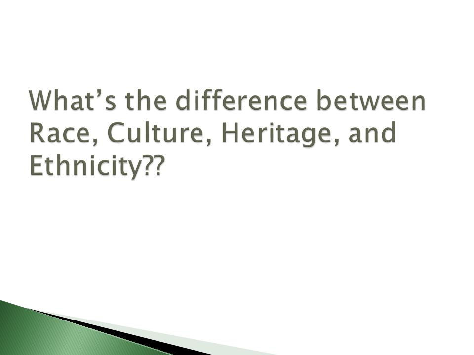what is the relationship between race ethnicity and culture