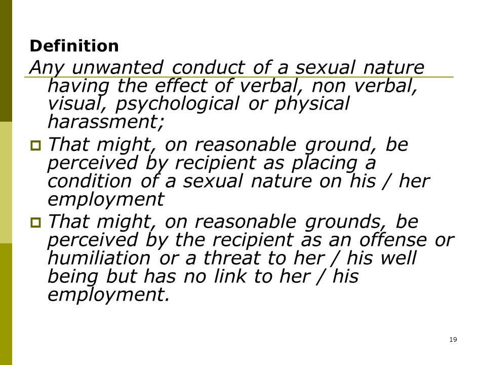 definition of sexual conduct