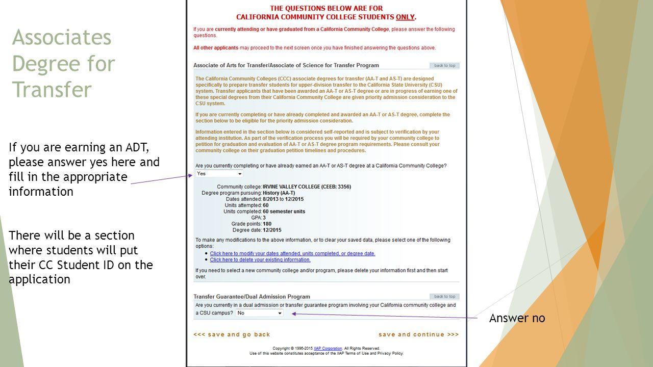11 Associates Degree For Transfer