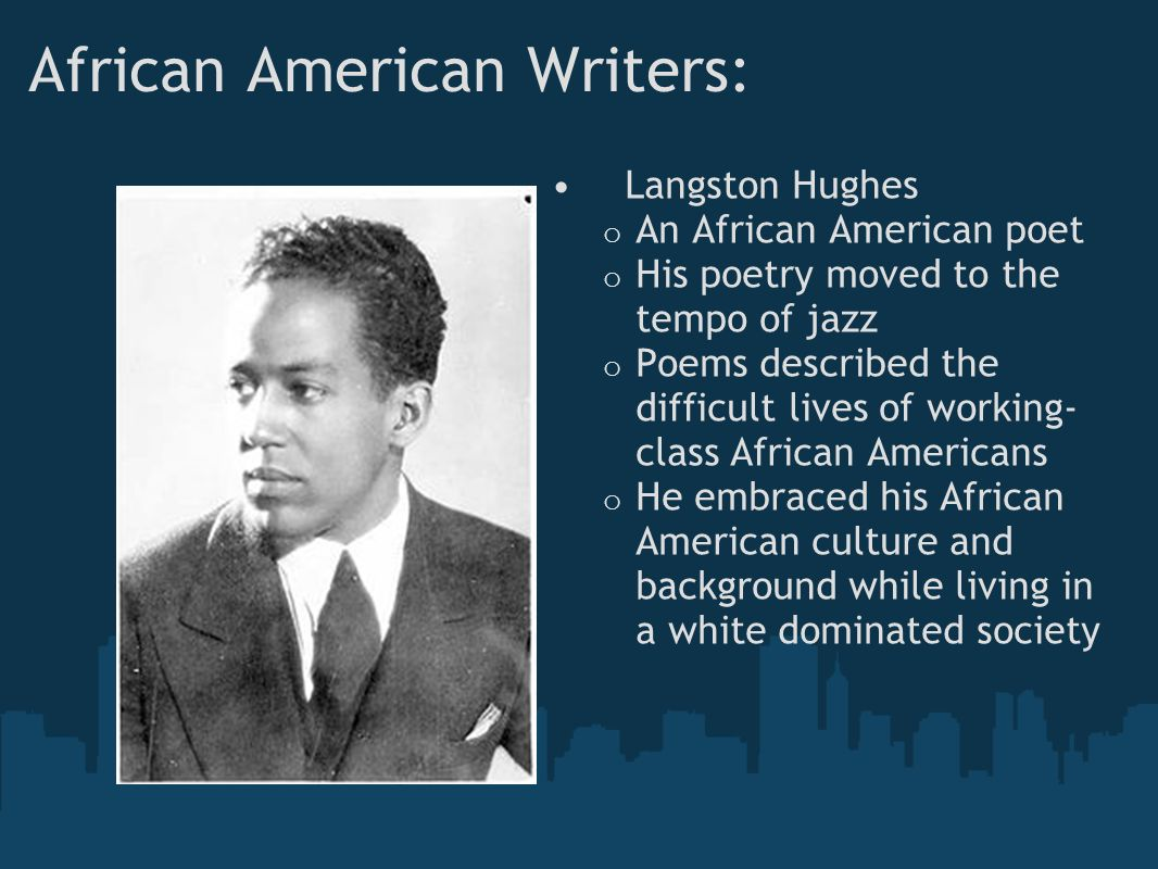 African American Writers:
