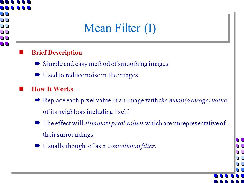 briefly describe data filtering