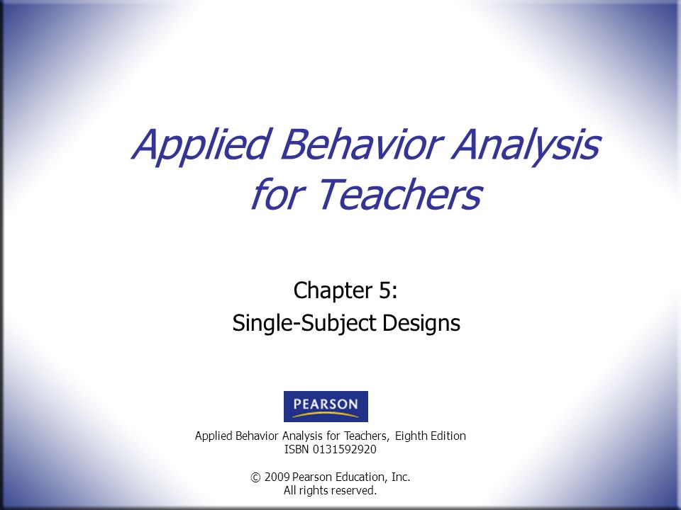 Applied Behavior Analysis For Teachers - Ppt Video Online Download