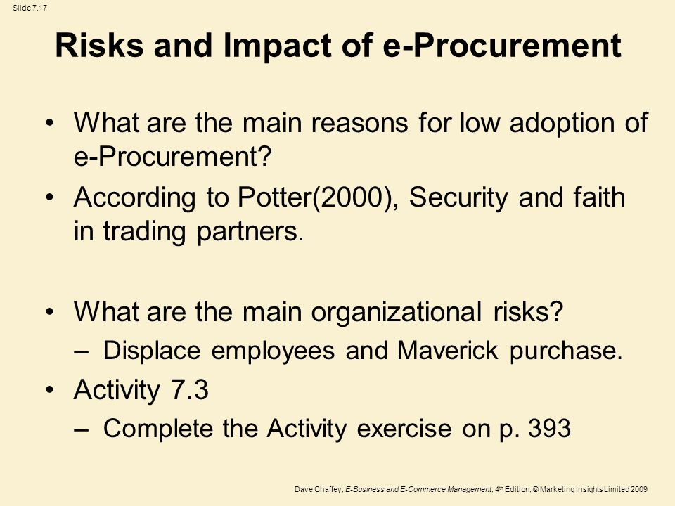 effect of e procurement in moi Effects of public procurement reforms on service delivery at the effect of public procurement reforms on service implement an e-procurement.