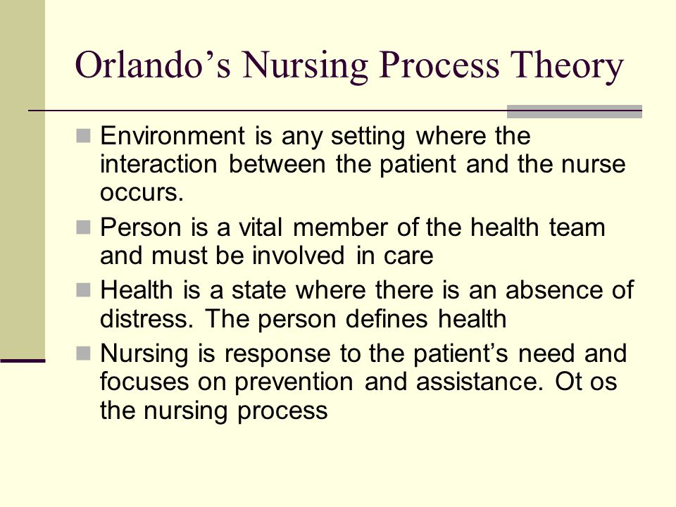 nursing knowledge through nursing process Justifying nursing practice: the scientific rationale basis for the performance of nursing care begin with sufficient curiosity to process nursing.