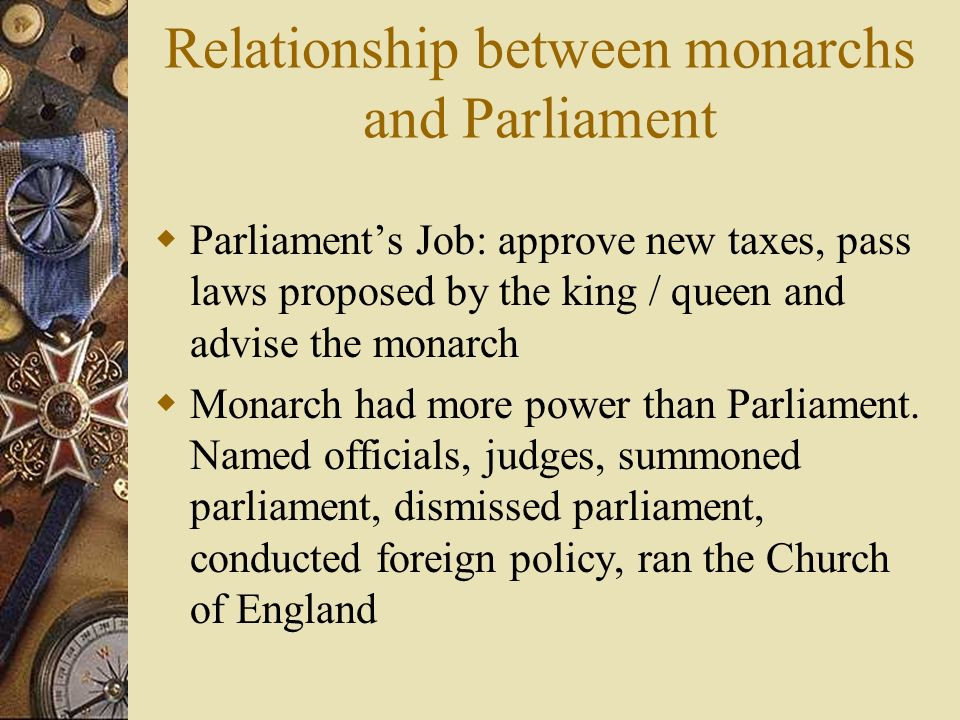 relationship between charles 1 and parliament