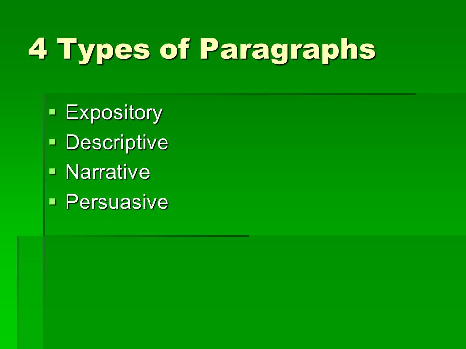 define narrative paragraph