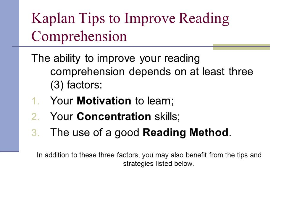thesis on improving reading comprehension A research synthesis 2010 a review of the current research on comprehension instruction this document was compiled, written, and edited by shari butler,  text structure to young readers to improve their reading comprehension such comprehension is necessary for organizing expository information and ultimately making sense of expository texts.