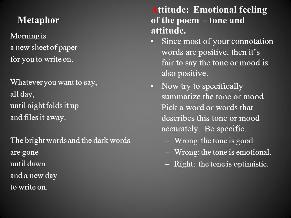 how to write an emotional poem