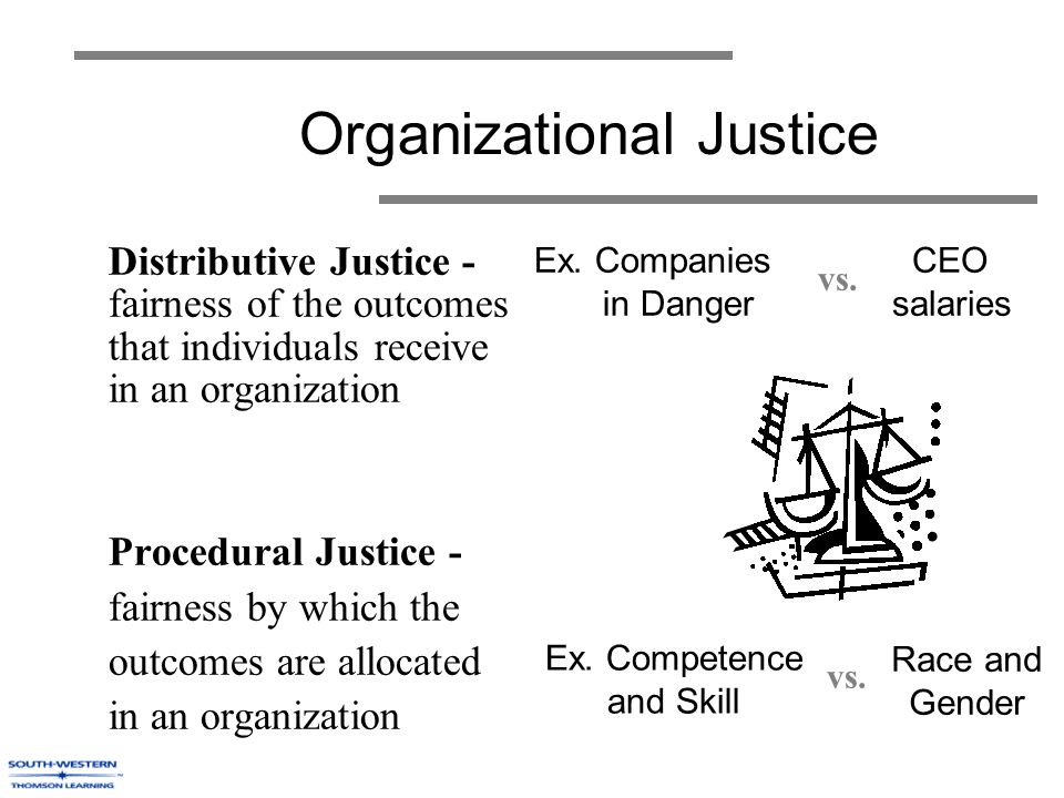 influence of procedural justice and distributive Social justice research, vol 1, no 2, 1987 distributive and procedural justice in the workplace robert foiger i the interrelatedness of procedural and.