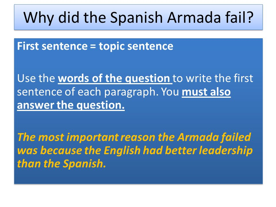 spanish armada essays Spanish armada essay - online homework writing and editing assistance - order reliable essay papers of the best quality high-quality student writing website - get.