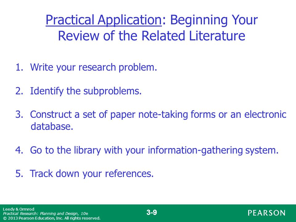 apa literature review purdue owl Tips on using apa headings but unless you are writing a lengthy literature review  purdue university online writing lab (owl).