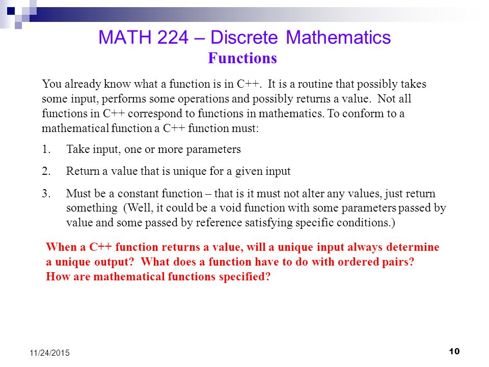 how to learn discrete math online
