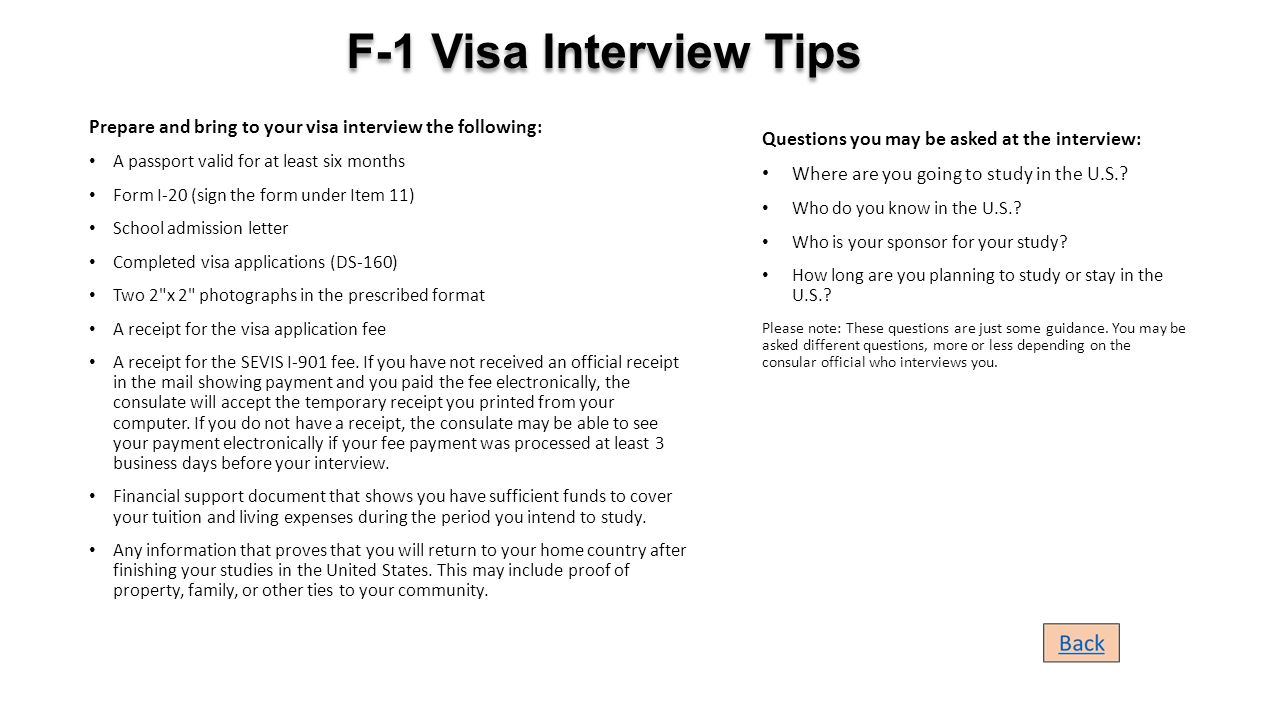 do i bring a cover letter to an interview - a visual aid how to apply for f 1 student visa ppt
