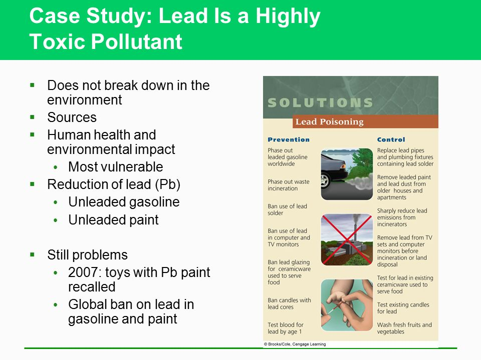 Air pollution chapter ppt download for When was lead paint banned