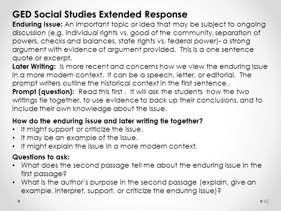 Ged Social Studies Worksheets : Staff development california oce ppt download