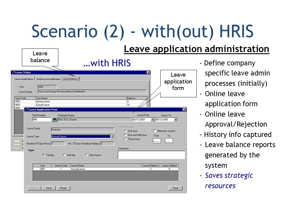 casual leave application form