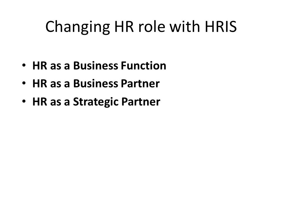 hr role as strategic partner The strategic business partner role is part of the solution for more insights and business strategies, sign up for our free leadership newsletter, leader's edge check out the handbook for strategic hr for more information.