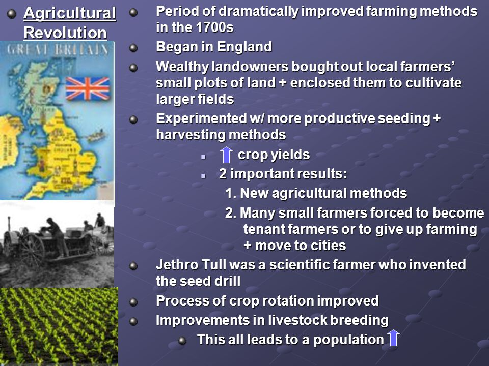 agricultural and industrial revolution essay