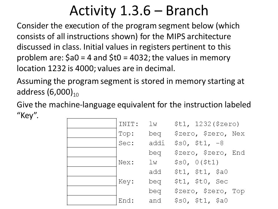 Activity 1.3.6 – Branch