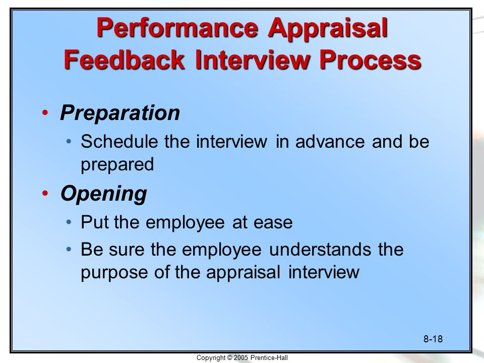 performance appraisal interview Staff performance appraisal policies, procedures, & forms a variety of templates are available for use for the staff performance appraisal process, an annual process required by policy e270 – staff performance appraisal supervisors may edit the templates to create a customized set or sets of appraisal forms to evaluate performance.