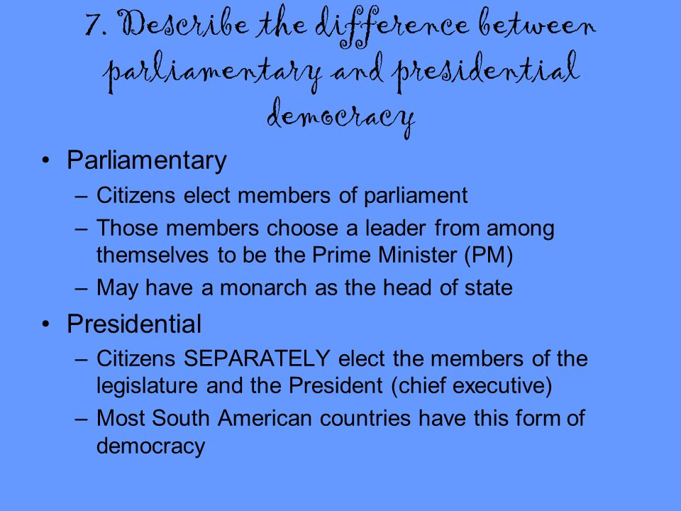 explain the difference between parliamentary and This is the companion website for the third edition of electronic and experimental music:  of parliamentary  explain the difference between binding.