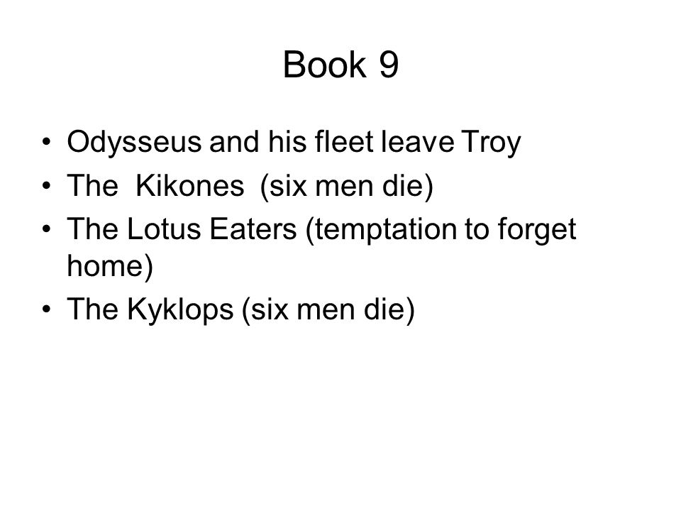 the odyssey study guide books 9 16 Need help with book 16 in homer's the odyssey check out our revolutionary  side-by-side summary and analysis.