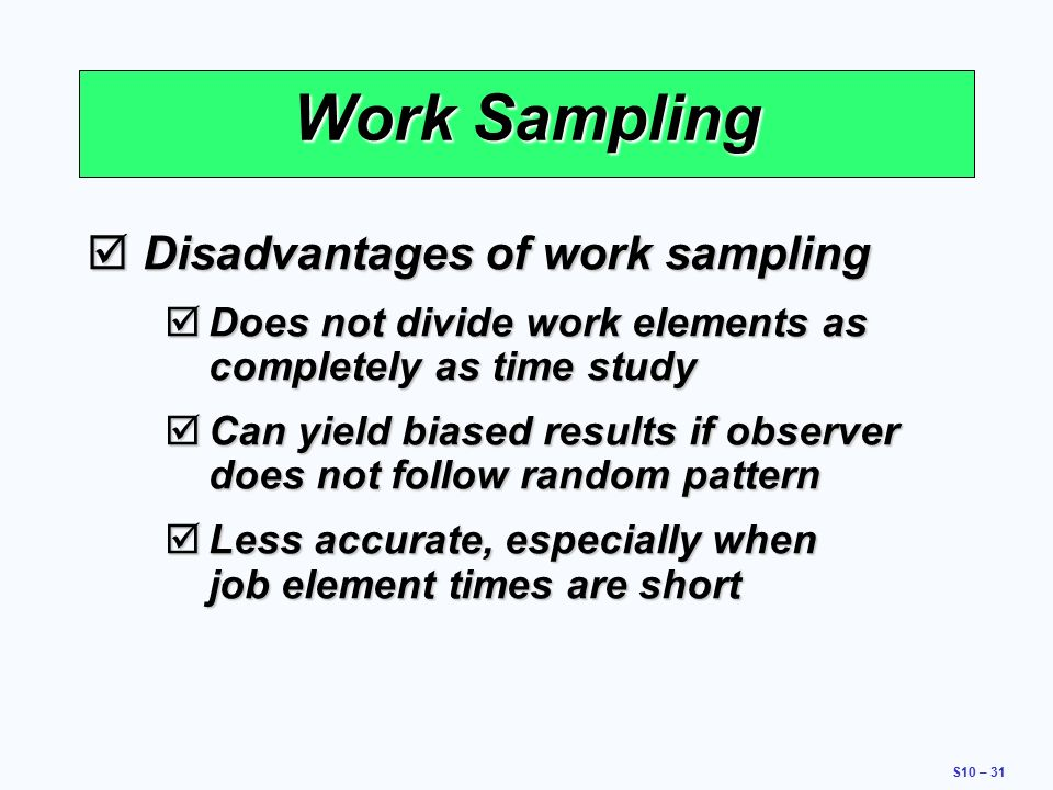 A Comparison of Work-Sampling and Time-and-Motion ...