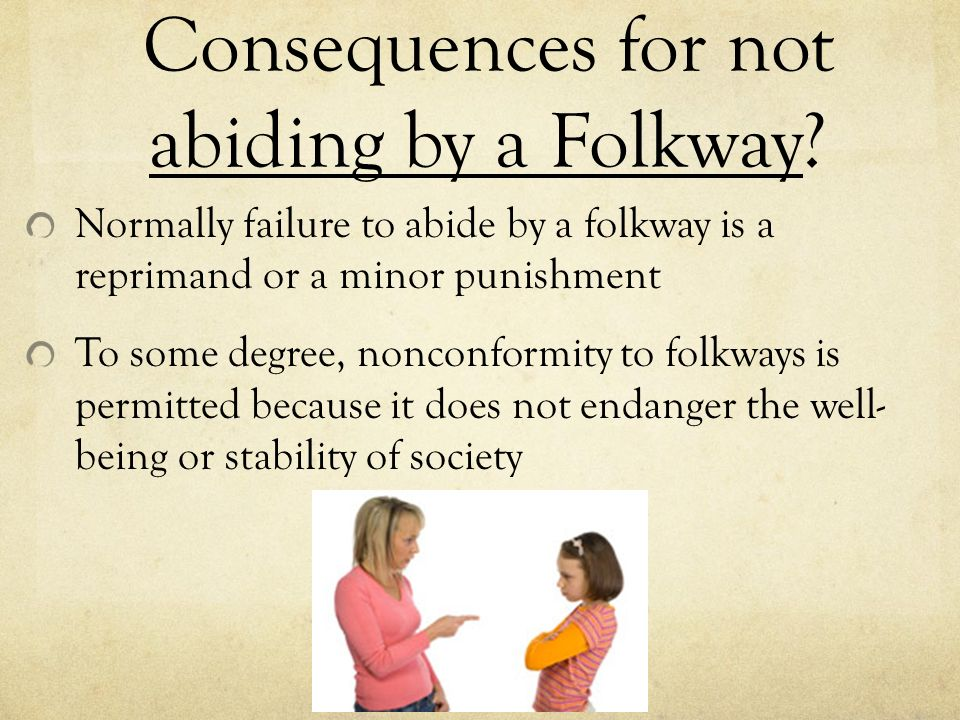 Folkways in Sociology Meaning Definition with Example