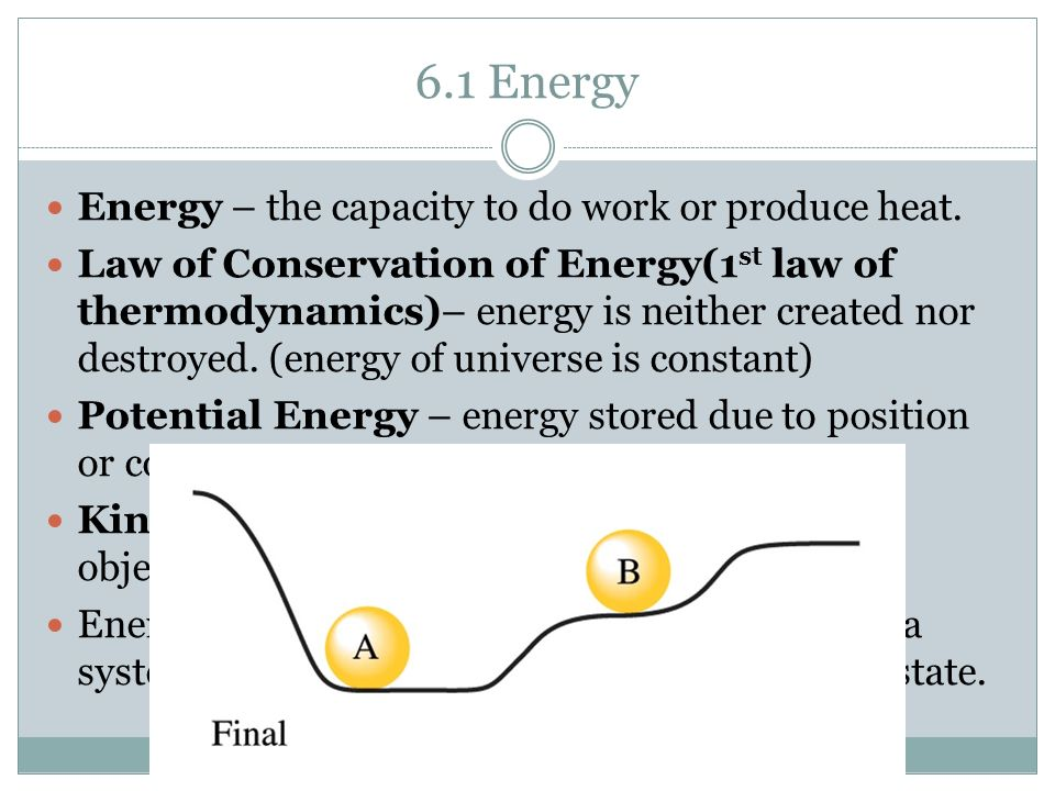 Law Of Conservation Of Energy Cartoon