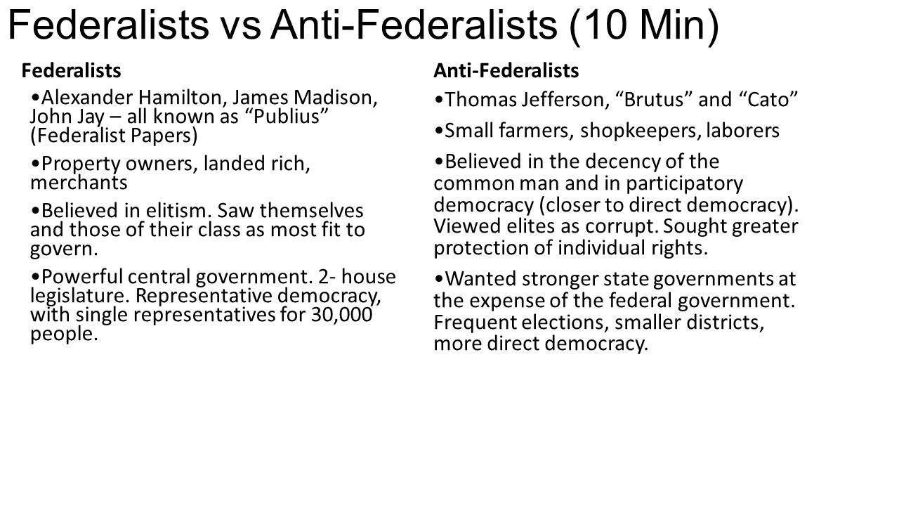 anti federalists and term limits A few days ago we asked if you thought term limits would result in better government anti-federalist would term limits result in better government by steve.