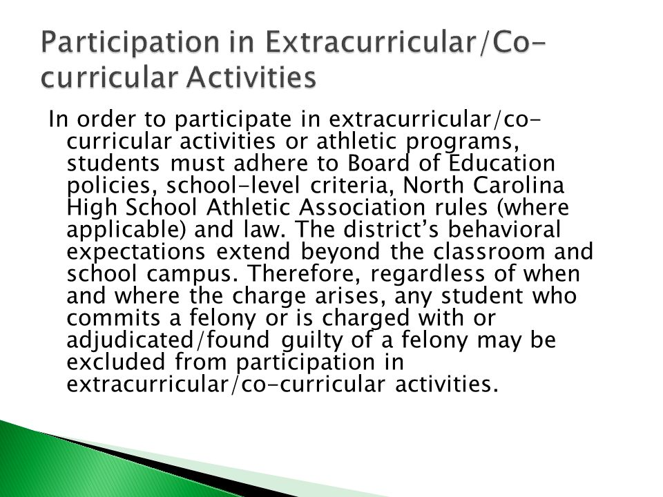 how participation in extracurricular activities impact The role of extracurricular activities at  myanmar it focuses on  the impacts of participation in ecas on students' lives, how the lap mission.