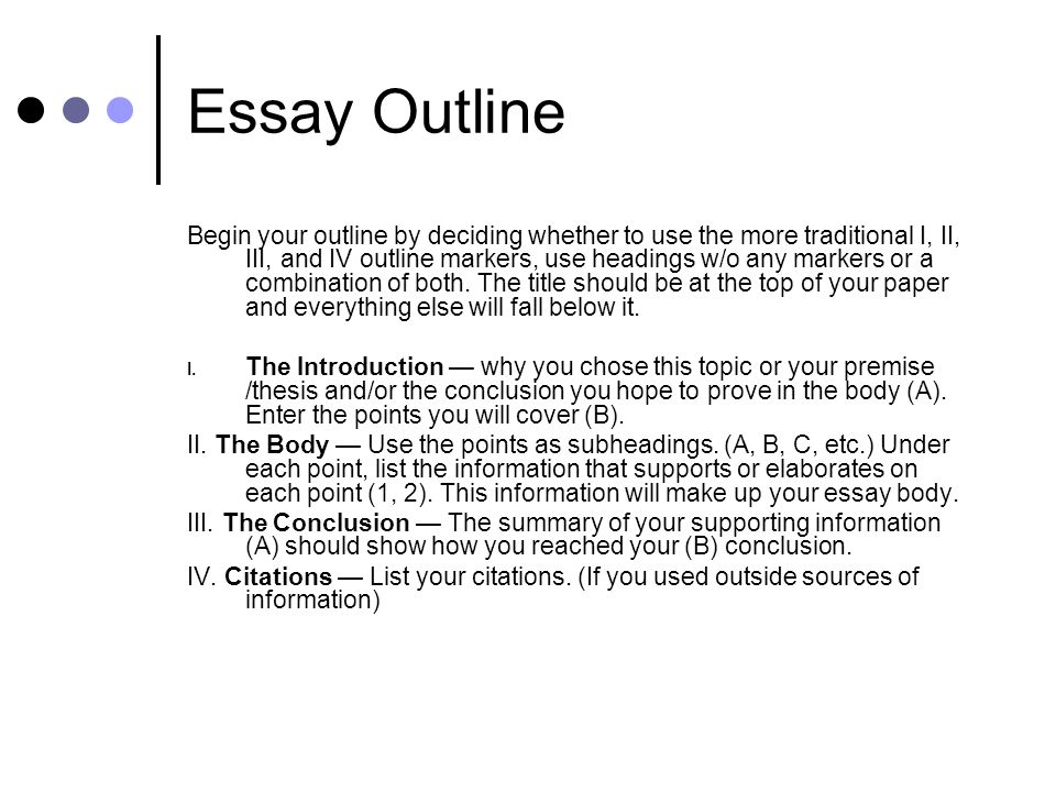 life style essay