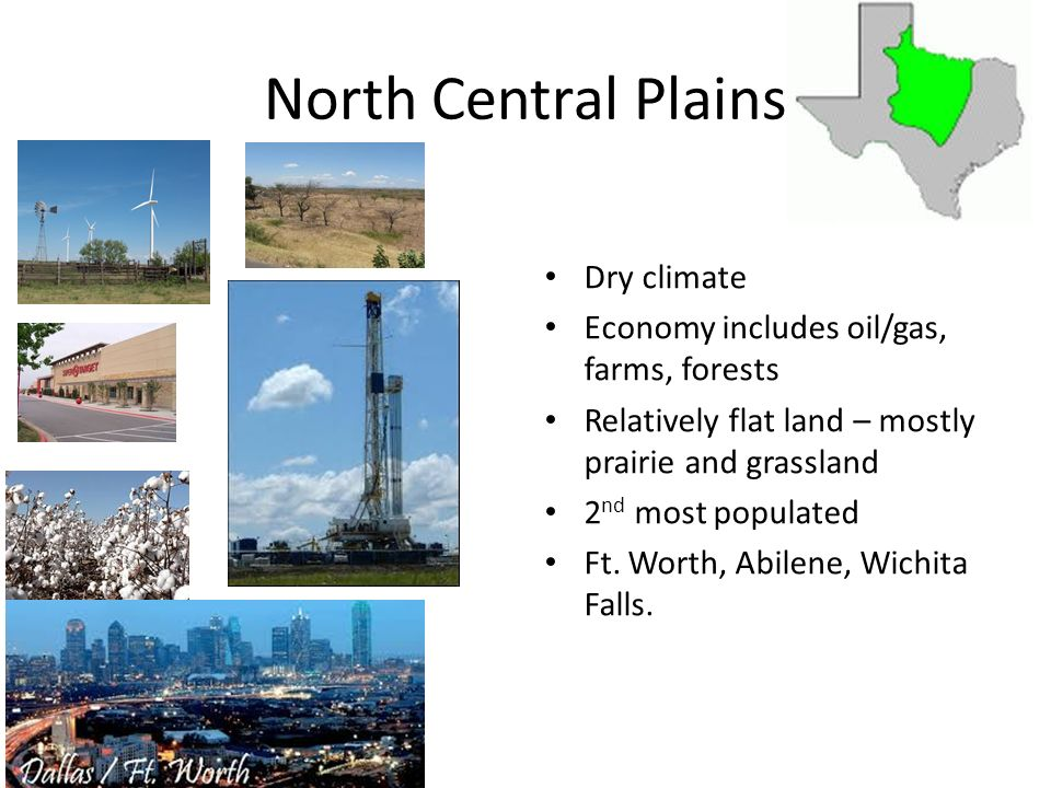 North Central Plains Dry climate