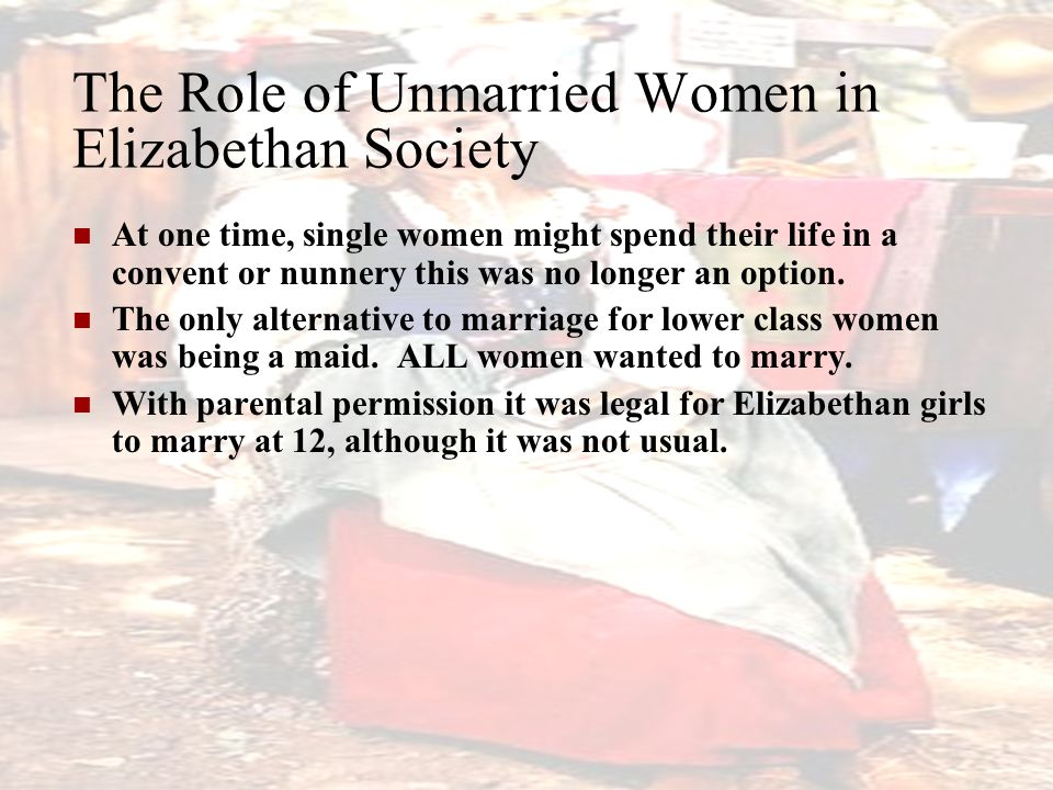 role of marriage in society Role of the christian woman  role of society  there will be no marriage in the kingdom,.