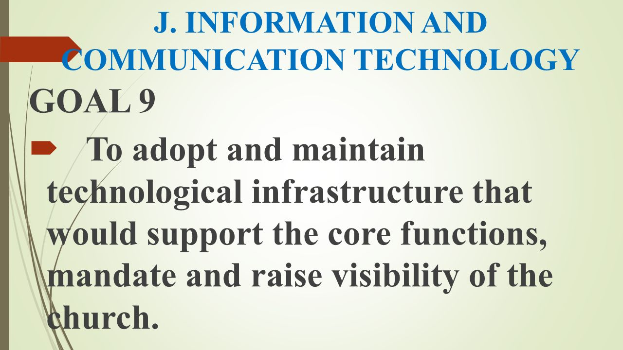 J. INFORMATION AND COMMUNICATION TECHNOLOGY