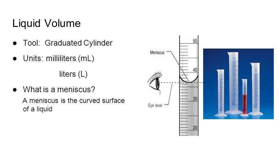 graduated cylinder volume