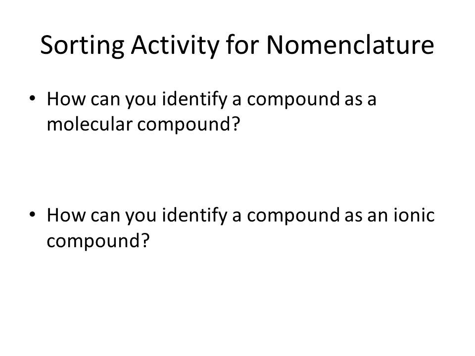 Naming Polyatomic Ions ppt download – Chemistry Nomenclature Worksheet