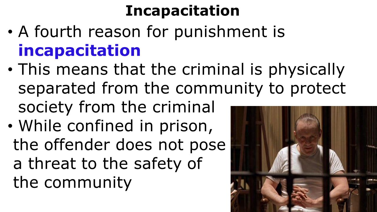 an analysis of the prison punishement and its programs as the means to rehabilitate These rules very clearly establish that the provision of rehabilitation programmes in prisons source: rand corporation (2013): evaluating the effectiveness of correctional education – a meta-analysis of programs that and to measure whether the actual impact of any programme is meeting its expectations, for.