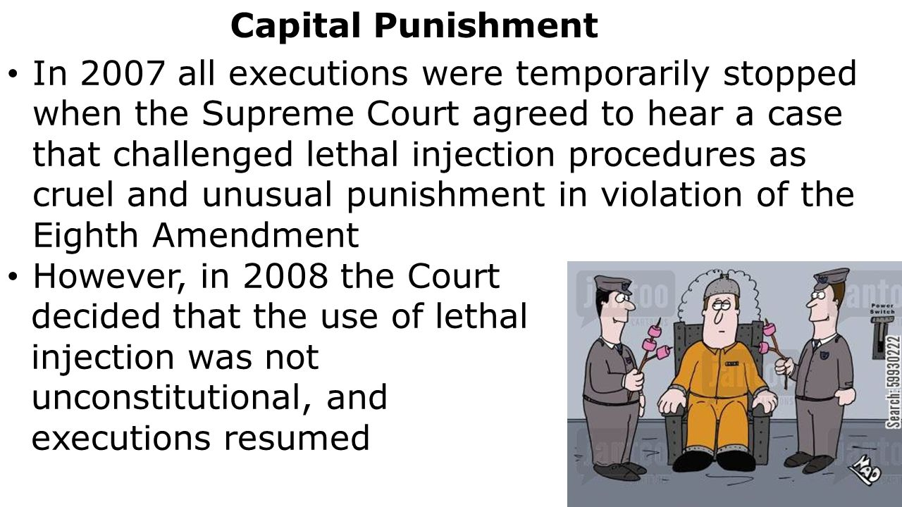 is death penalty cruel and unusual