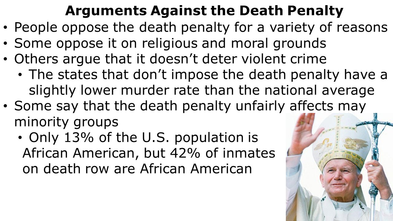 Death penalty opposition essay