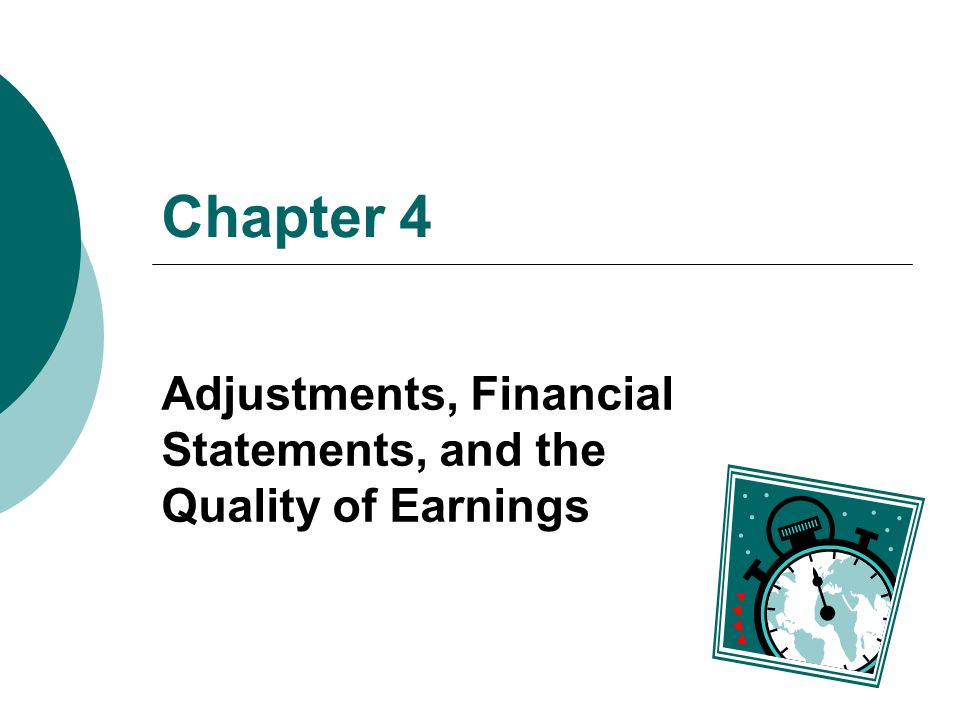 quality of earning Earnings quality, in accounting, refers to the ability of reported earnings (income) to predict a company's future earnings it is an assessment criterion for how repeatable, controllable and bankable a firm's earnings are, amongst other factors, and has variously been defined as the degree to which earnings reflect underlying economic .
