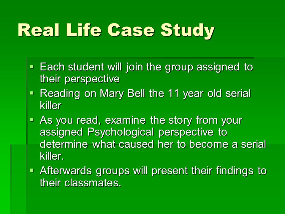 an introduction to the analysis of serial killer mind The mind of a psychopath: the psychopathic killer  etiology of the psychopathic serial killer: an analysis of antisocial personality  introduction | brain.