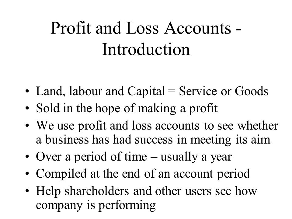 introduction review of accounting process and